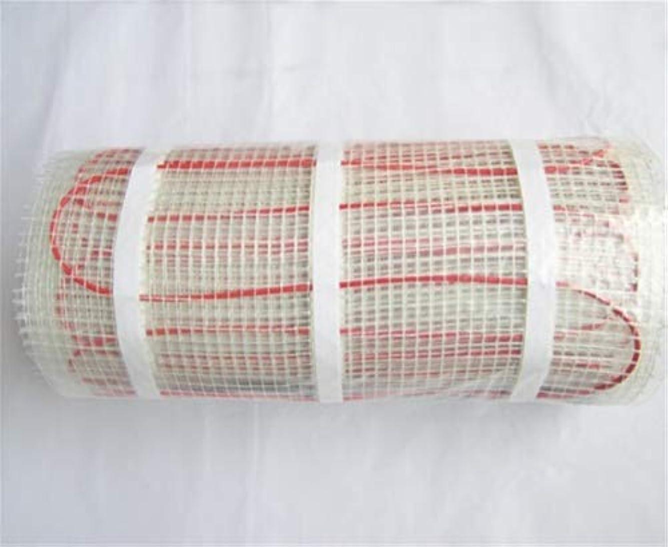 瀬戸際あいにくただやるパネルヒーター タイル、陶磁器、磁器、石造りの床等のためのM2ごとの床暖房の床暖房のマット230V 200w 200W / m2-4.5m2ランダムな色配達