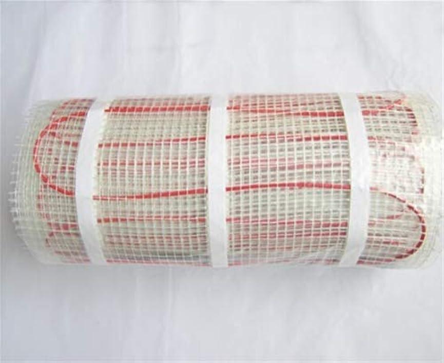 読み書きのできない変換するあいまいなパネルヒーター タイル、セラミック、磁器、石造りの床などのためのM2のための床暖房のマット150w 150W / m2-6.0m2ランダムな色配達