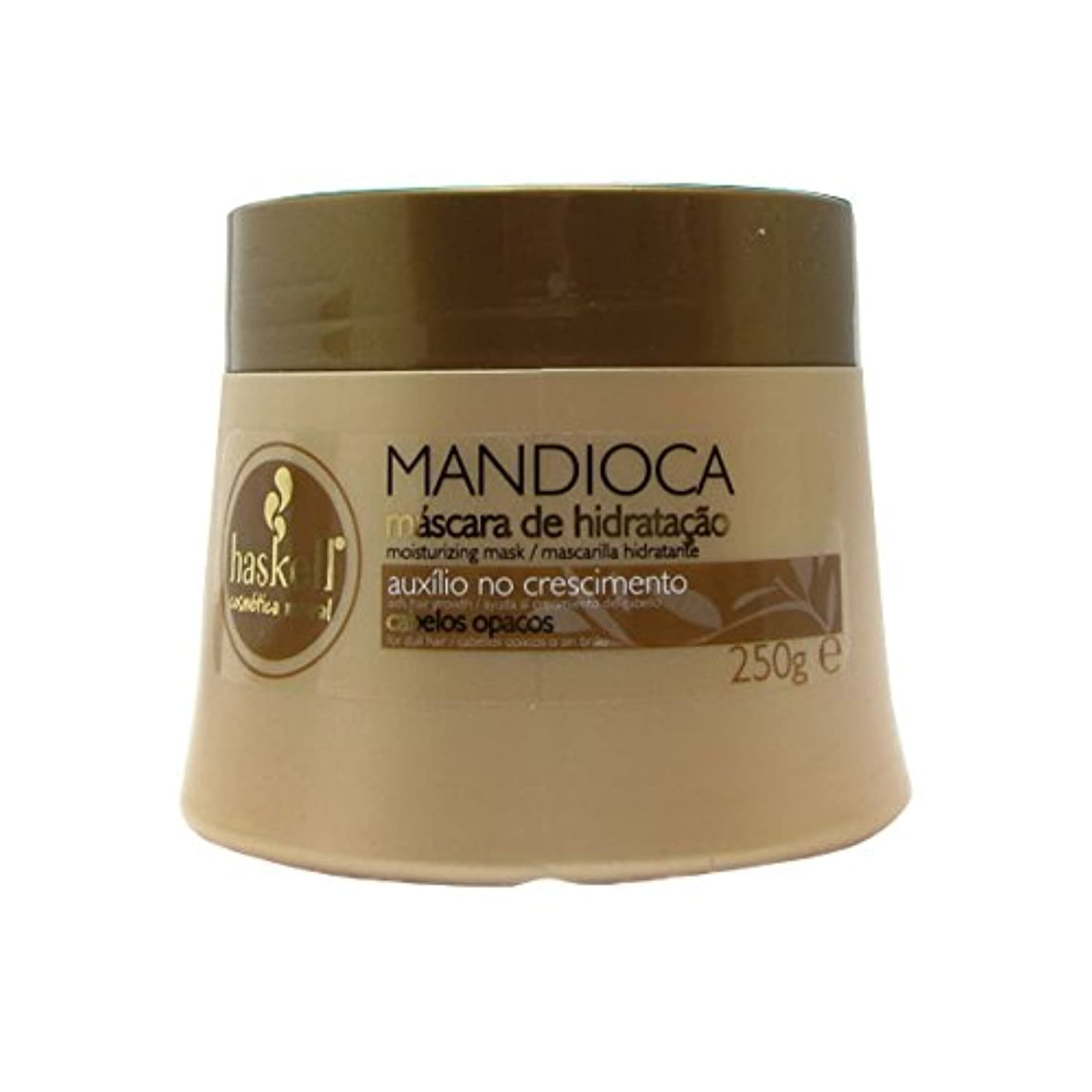 マオリばかげたコーチHaskell Mandioca Hair Mask 250g [並行輸入品]