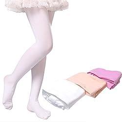 バレエ タイツ 消耗品をお安く 子供バレエ タイツ 格安 バレエ用 子供用 子供 タイツ 色 ピンクベージュ 白
