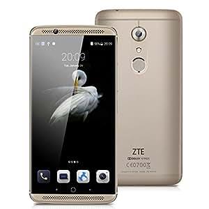 ZTE AXON 7 A2017G SIMフリースマートフォン (Android 6.0/5.5inch/nano SIM// デュアルSIMスロット) ゴールド