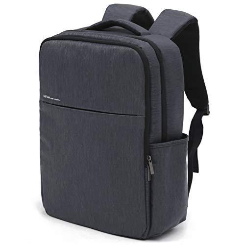 SLOTAM バックパック ビジネスリュック メンズ レディース PCバッグ ラップトップバックパック USB充電ポート 防水 耐傷付き ダークグレー