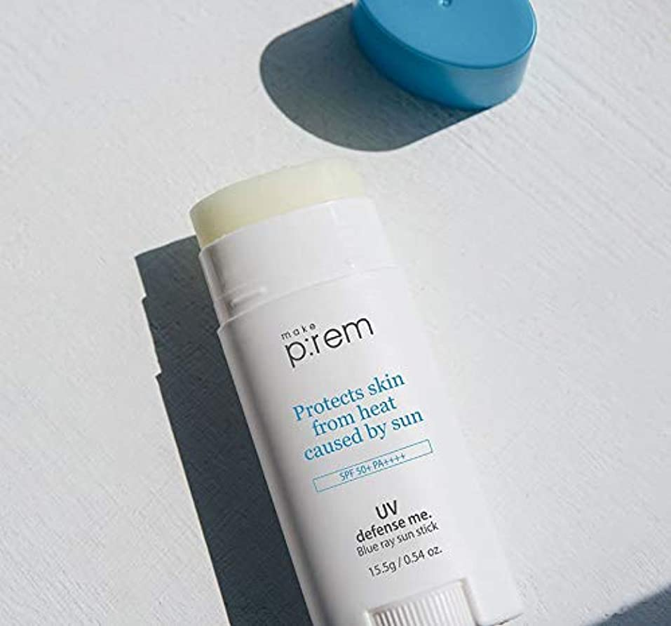 シェーバー測定ウイルス[make p:rem] UV defense me. Blue ray sun stick/ユブイディフェンスミブルーレイサンスティック [並行輸入品]