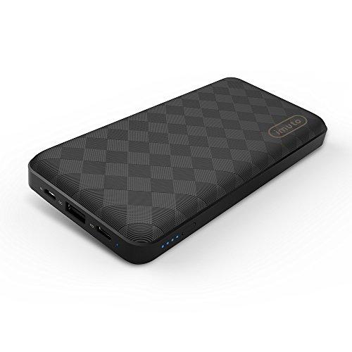 iMuto 20100mAh 45W PD2.0&QC2.0 USB-C 充電器 大容量 モバイルバッテリー 軽量 薄型 持ち運び 急速充電 スマホ充電器 iPhone X/10/8/Plus/7/6, Macbook, Nintendo Switch, Galaxy S8/7/Note 8等対応