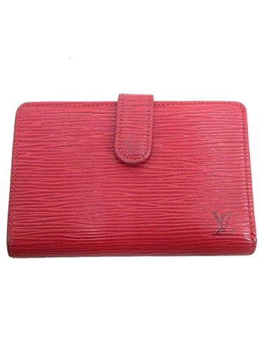 LOUIS VUITTON(ルイヴィトン) エピ ポルトモネヴィエノワ 二つ折り財布 がま口 M63247 カスティリアンレッド 赤 【ブランド財布】 【中古】