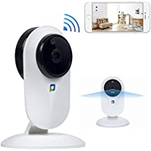 OPTJOY HD 1080P WIFI security Camera Baby Monitor Camera with Night Version Motion Dection Two-Way Audio