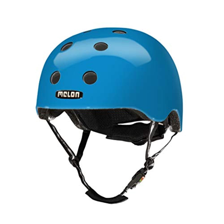 メロンヘルメット(Melon Helmet) レインボーブルー(Rainbow Blue) M-Lサイズ 52-58cm
