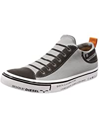 (ディーゼル) DIESEL ユニセックス コンフォータブル スリッポンスニーカー DIESEL IMAGINEE S-DIESEL MAGINEE LOW SLIP-ON - sneakers Y01700PR238