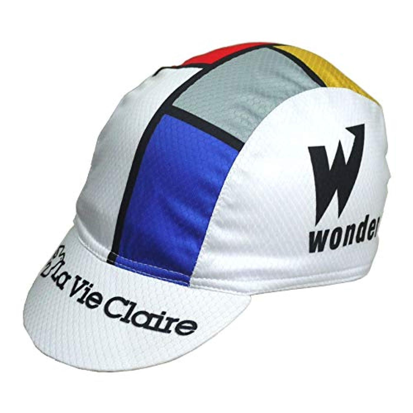 エネルギー霧入手しますサイクリング キャップ レトロデザイン No3 フランス メンズ レディース クールマックス仕様 自転車 MTB 帽子 ロードバイク