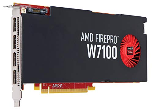 HP AMD FirePro W7100 8GB グラフィックスカード (認定整備済み)