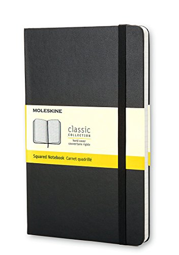 Moleskine Pocket Squared Notebook Classic