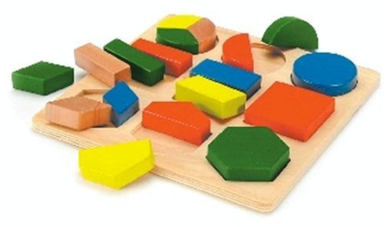 形あわせパズル B (木製玩具)