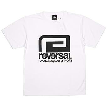 (リバーサル) REVERSAL BIG MARK DRY MESH TEE (SS:TEE)(rvbs004-WH) Tシャツ 半袖 ドライメッシュ S ホワイト