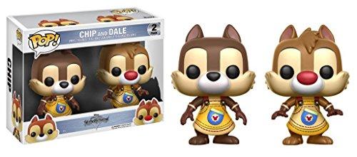ディズニー チップ&デール フィギュアFunko Pop Disney: Kingdom Hearts - Chip and Dale Vinyl Figures Item No. 12366