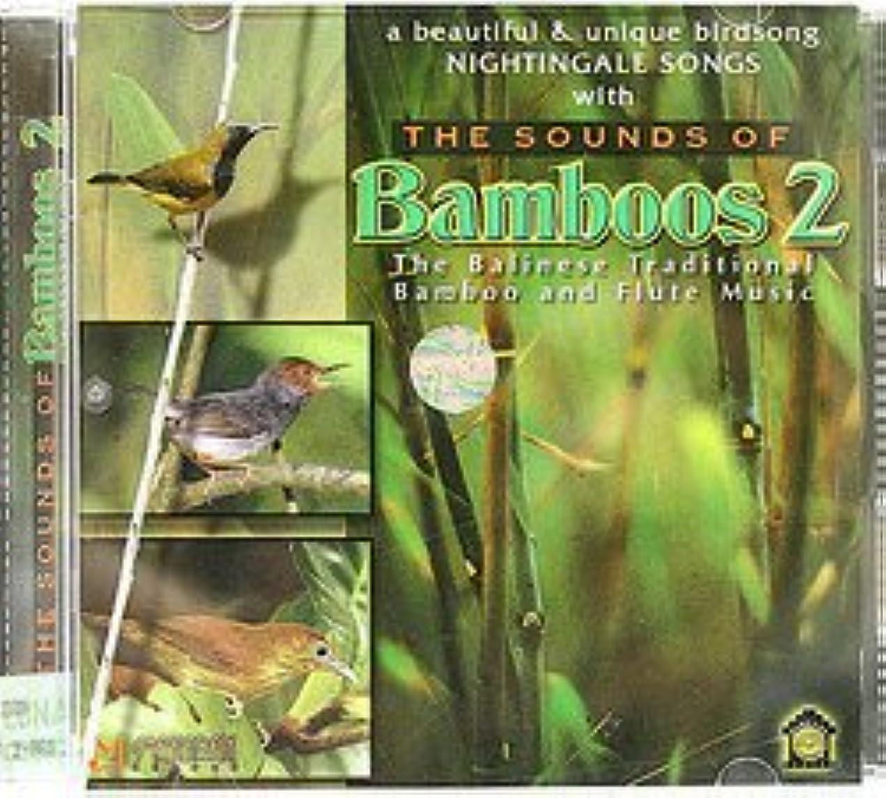 北へ有能なしばしば癒しのバリミュージック 『THE SOUND OF Bamboos 2』バリ雑貨 癒し系CD ヒーリングミュージック