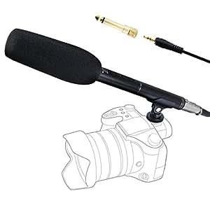 Tonor 録音機能付き ビデオカメラ マイク インタビューマイク