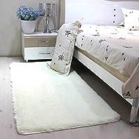 KuangfuMall ホームシンプルな寝室のカーペットリビングルームソファコーヒーテーブルルームベッドサイドマットフローティングウィンドウキッチンマット (Color : 50*160cm, サイズ : High 3cm)