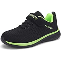 MONTAAS Kids Running Shoes Lightweight Boys Sneakers Girls Breathable Athletic Sport Shoes for Little Kid and Big Kid