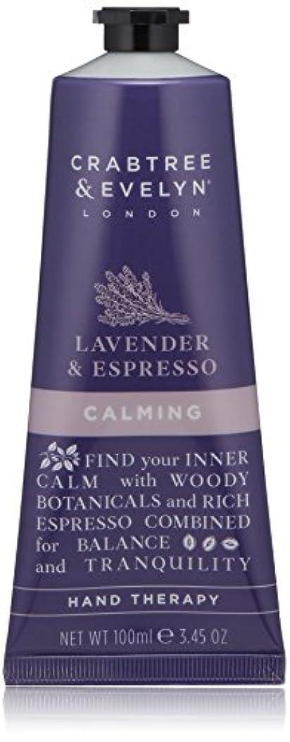 コンパス笑見落とすクラブツリー&イヴリン Lavender & Espresso Calming Hand Therapy 100ml/3.45oz並行輸入品