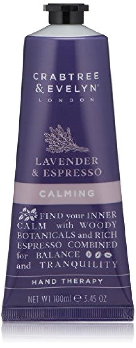 コンサルタントオーナメントカエルクラブツリー&イヴリン Lavender & Espresso Calming Hand Therapy 100ml/3.45oz並行輸入品