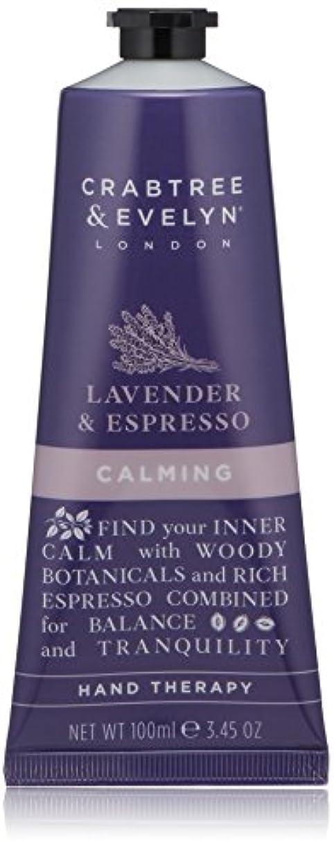 先のことを考えるの量お尻クラブツリー&イヴリン Lavender & Espresso Calming Hand Therapy 100ml/3.45oz並行輸入品
