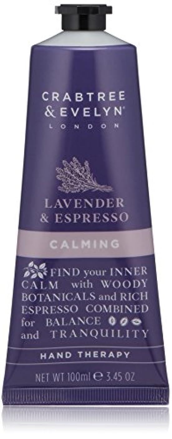 コットン能力オフクラブツリー&イヴリン Lavender & Espresso Calming Hand Therapy 100ml/3.45oz並行輸入品