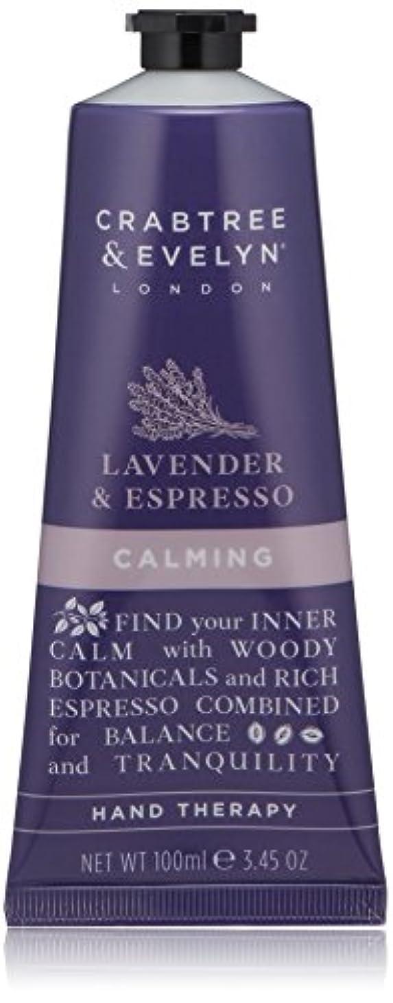 酸っぱいサイバースペースポルティコクラブツリー&イヴリン Lavender & Espresso Calming Hand Therapy 100ml/3.45oz並行輸入品