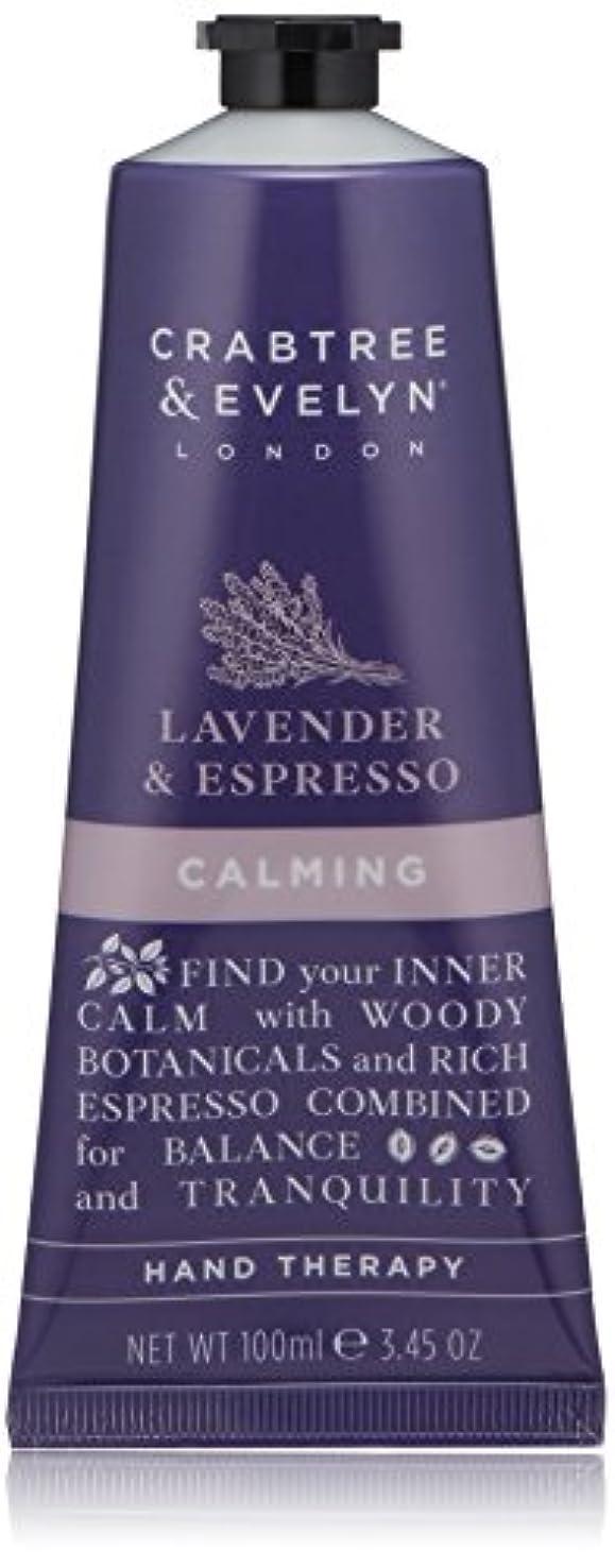 許さない面解読するクラブツリー&イヴリン Lavender & Espresso Calming Hand Therapy 100ml/3.45oz並行輸入品