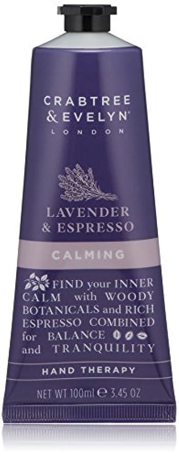 素晴らしさとティームガスクラブツリー&イヴリン Lavender & Espresso Calming Hand Therapy 100ml/3.45oz並行輸入品