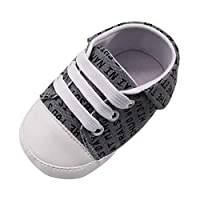 [Rad子供] 赤ちゃんの男の子 文字プリント滑り止めシューズスニーカー柔らかい底のウォーキングシューズファーストウォーカー