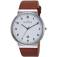 Skagen Men's SKW6082 Ancher Saddle Leather Watch