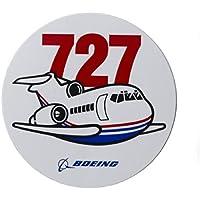 (ボーイング) BOEING 727ステッカー (PUDGY) 飛行機