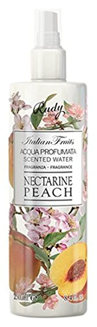 急勾配のうんざり召喚するRUDY Italian Fruits Series ルディ イタリアンフルーツ Body Mist ボディミスト Nectarine Peach
