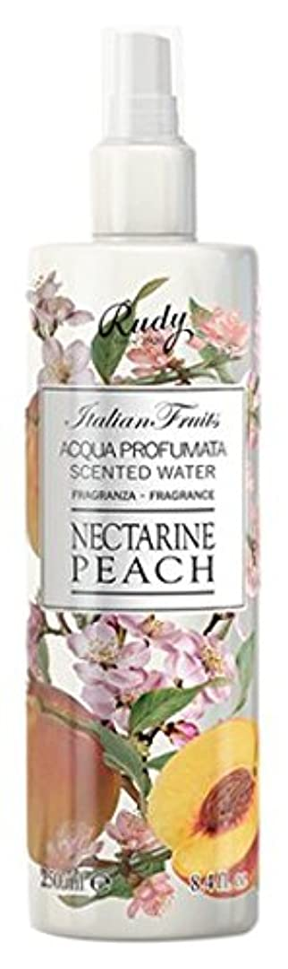 以内に花束サンドイッチRUDY Italian Fruits Series ルディ イタリアンフルーツ Body Mist ボディミスト Nectarine Peach