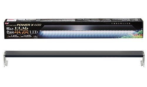 ジェックス クリア LED POWER X 600 60cm用 1,400lm 11,000K