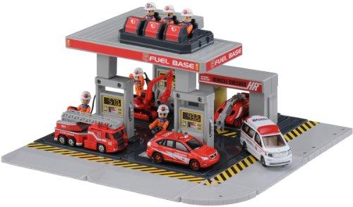 トミカ 小型特殊車両 給油ベース