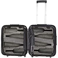 VinGardeValise Petite 03 8 Bottle Wine Travel Suitcase - Newest Model & Features