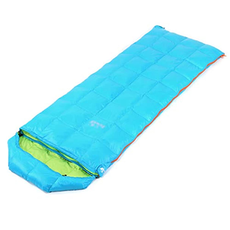 変色する野生に対して大人用寝袋寝袋キャンプ用寝袋暖かいランチブレイク大人用寝袋屋外封筒タイプアヒル男性と女性の寝袋春と秋のキャンプ (Color : RED, Size : 175+30*73CM)