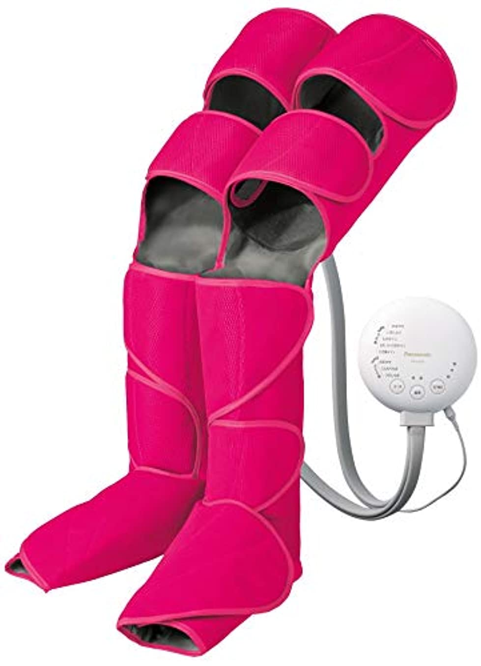肌寒いエンジニアリングフレームワークパナソニック エアーマッサージャー レッグリフレ ひざ/太もも巻き対応 温感機能搭載 ルージュピンク EW-RA98-RP
