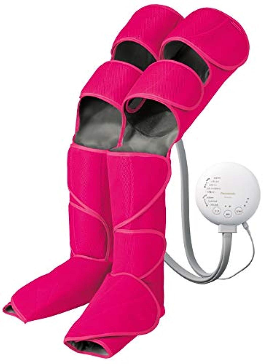 支配する汚物喉頭パナソニック エアーマッサージャー レッグリフレ ひざ/太もも巻き対応 温感機能搭載 ルージュピンク EW-RA98-RP