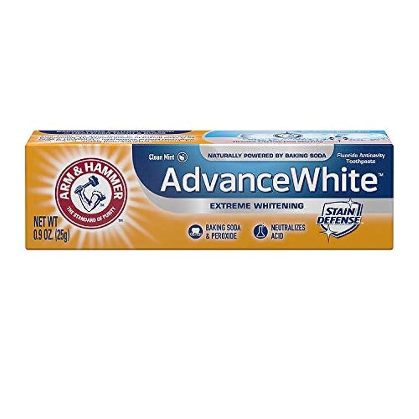 生活概念神聖Arm & Hammer Advance White Extreme Whitening with Stain Defense Baking Soda & Peroxide Toothpaste - 4.3 oz by...