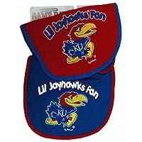 Kansas Jayhawks Team Logo Baby Bibs - 2 Pack by Jenkins [並行輸入品]