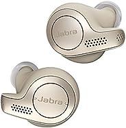 Jabra 完全ワイヤレスイヤホン Elite 65t ゴールドベージュ Amazon Alexa搭載 BT5.0 ノイズキャンセリングマイク付 防塵防水IP55 2台同時接続 2年保証 北欧デザイン 【国内正規品】 1