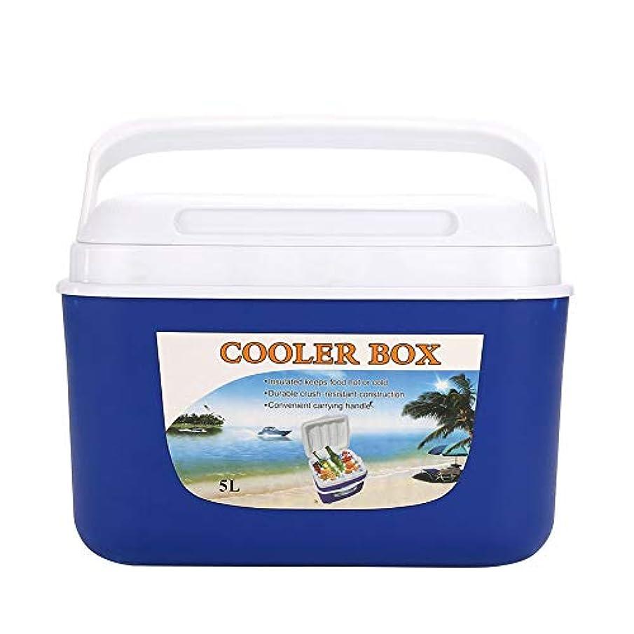 疲労変成器パイルRosepoem キャンプフレッシュボックス保冷ボックス冷凍庫ピクニックPeプラスチック耐久性フレッシュボックス