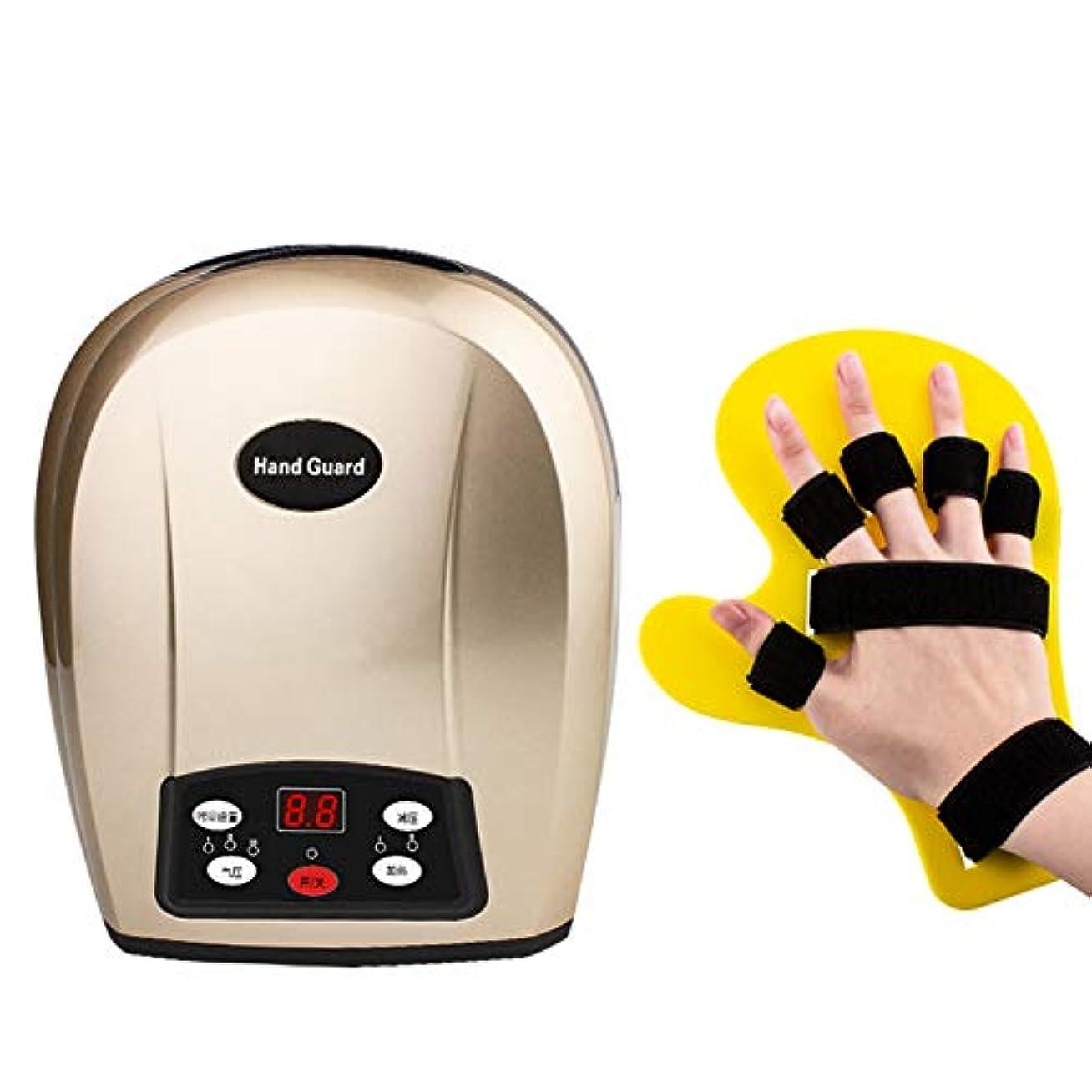 気難しい甘味待って関節炎の鎮痛、調節可能な圧力とタイマーのための混練と熱療法を備えた電動ハンドマッサージ器,MassagerAndFingerSeparator