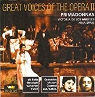 Great Voices of the Opera III: Barrientos, de Hidalgo, Gadski, Branzell (2 CD) (2001-05-03)