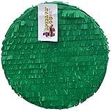 APINATA4U 16インチ 丸型 空白 ピニャータ 緑色 あなた自身のピニャータを作るのに最適