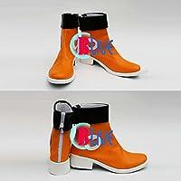 ●●サイズ選択可●●I0832ZCI コスプレ靴 ブーツ VOCALOID ボーカロイド SING & SMILE 初音ミク Miku 女性25CM