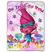 [ドリームワークス]Dreamworks Poppy Be True To You Throw Multicolored Trolls NW34062172 [並行輸入品]