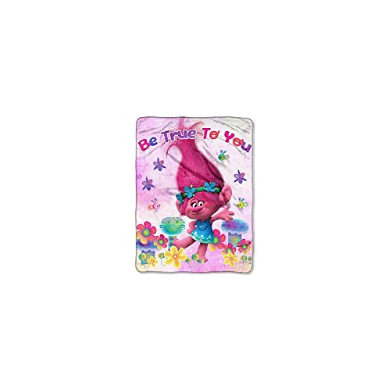 [ドリームワークス]Dreamworks Poppy Be True To You Throw Multicolored Trolls NW34062172 [並行輸入品]